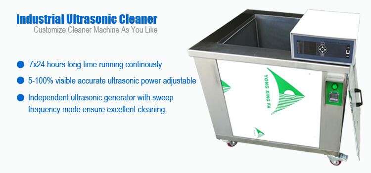 Industrial Ultrasonic Parts Washer Machine