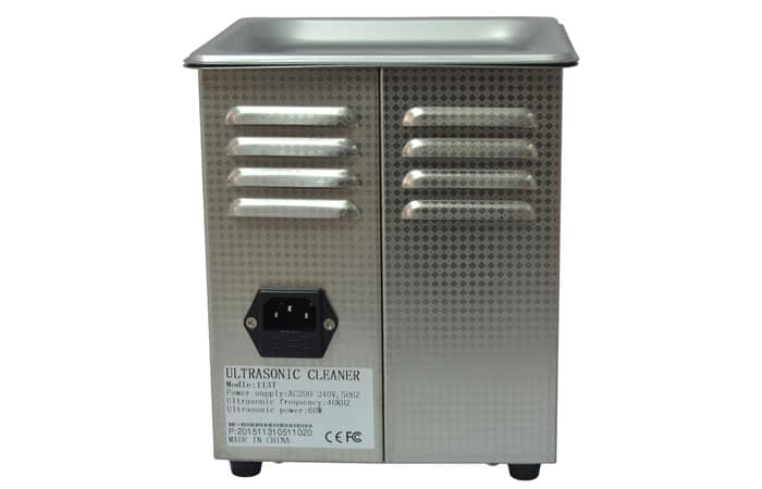 1.3L liter ultrasonic glasses cleaner