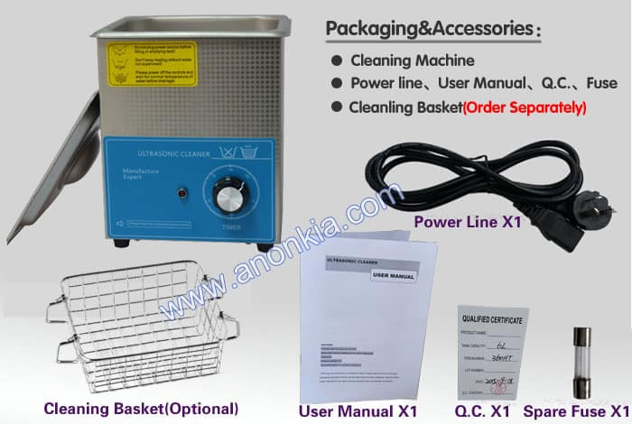 ultrasonic cleaner packaging