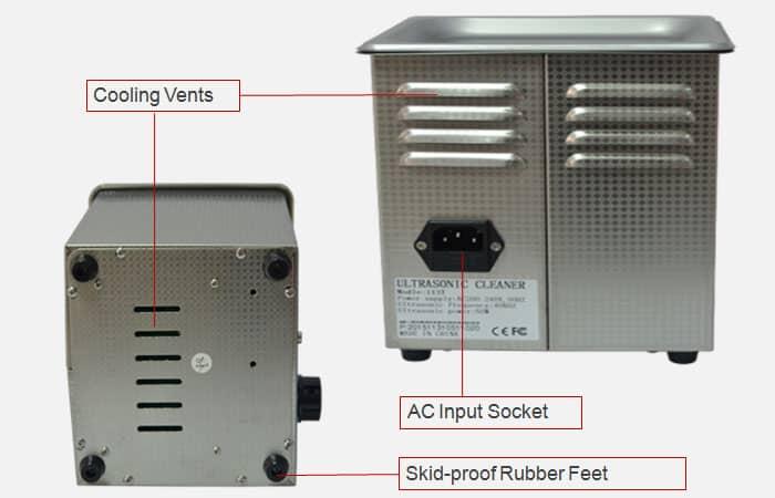 ultrasonic bath sonic cleaner