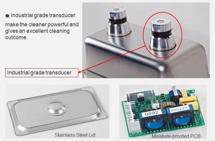 Industrial Ultrasonic Cleaner Transducers
