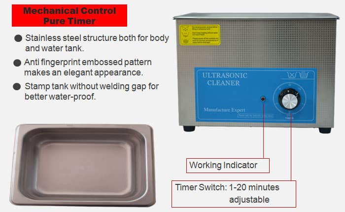 4l ultrasonic cleaning bath