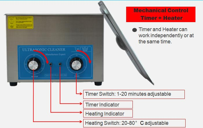sonic cleaning dental ultrasonic bath