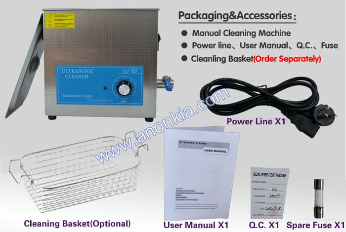 ultra sonic cleaner China manufacturer