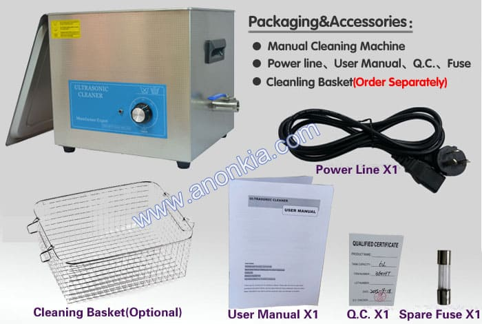 Ultrasonic Washing Machine Packaging
