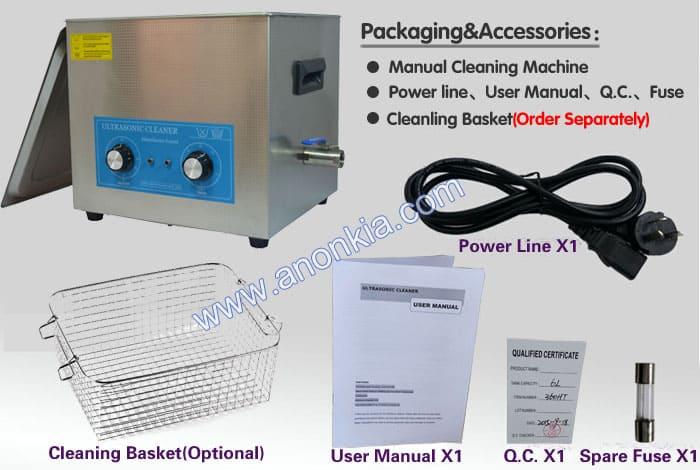 Ultrasonic Cleaner Machine Packaging