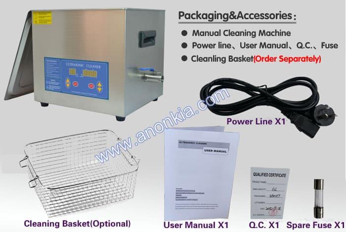 Ultrasonic Cleaner Packaging