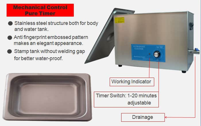 30L Industrial Ultrasonic Cleaning Machine