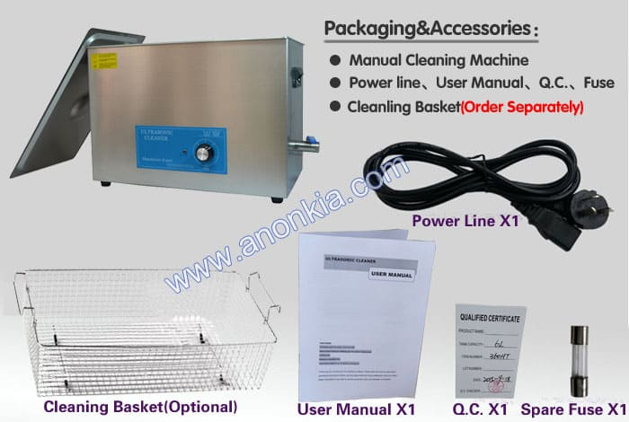 Large Ultrasonic Cleaner Packaging