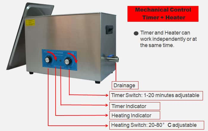20L Ultrasonic Parts Cleaner