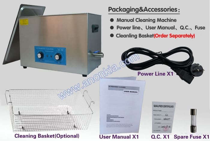 Small Ultrasonic Cleaner Machine Packaging