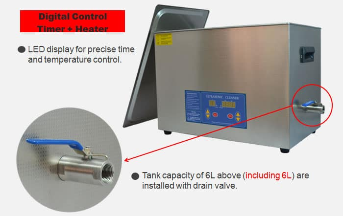 20L Digital Ultrasonic Cleaner