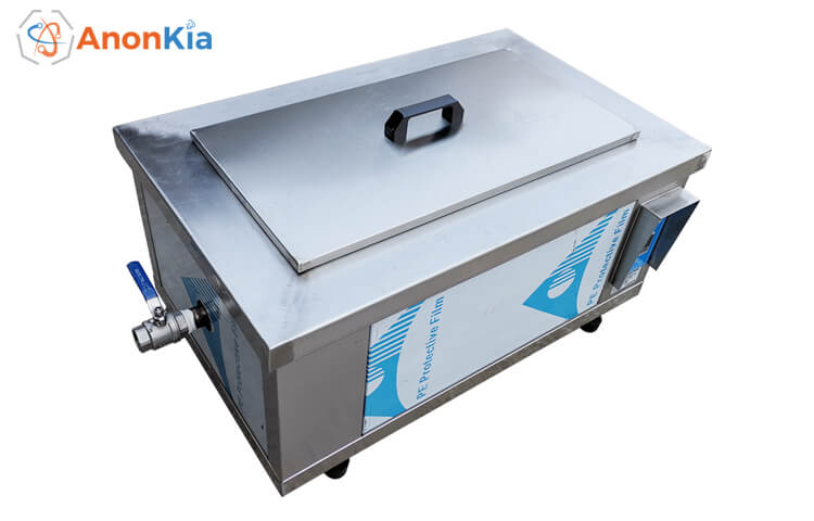 36L Industrial Benchtop Ultrasonic Cleaner with Basket