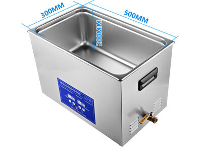 30L Digital Ultrasonic Cleaner Ultrasonic Bath Size