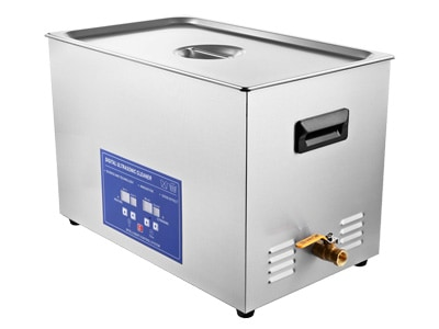 30L Commercial Ultrasonic Parts Cleaner with Heater For Sale