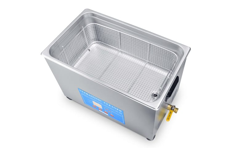 30L Variable Frequency Ultrasonic Cleaner with Basket