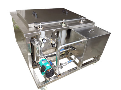 Automated Ultrasonic Cleaner Filtration System
