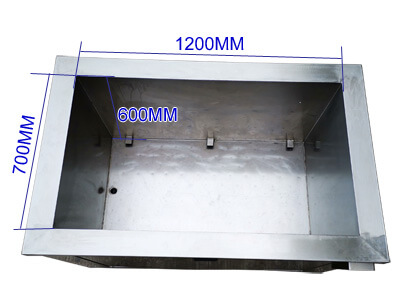 500l large capacity ultrasonic cleaning tank