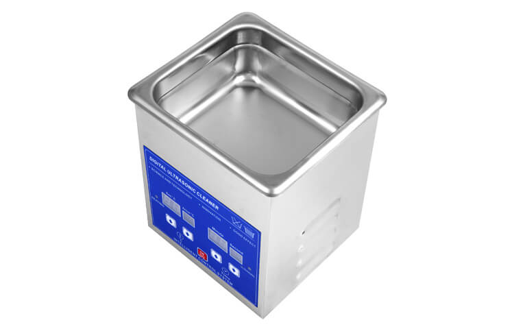 1.3L Stainless Steel Ultrasonic Jewelry Cleaner