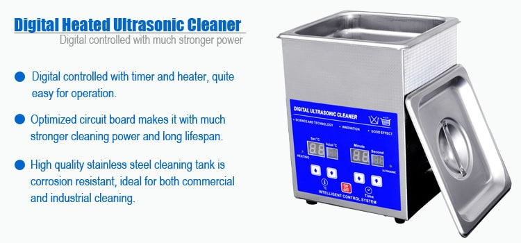 2L Ultrasonic Glasses Cleaner