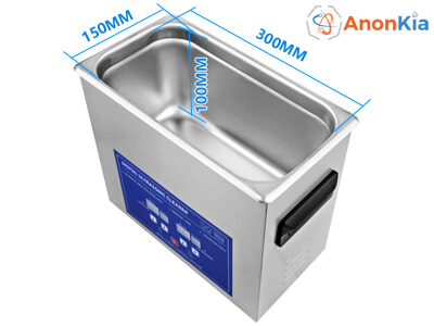 4L heated ultrasonic bath