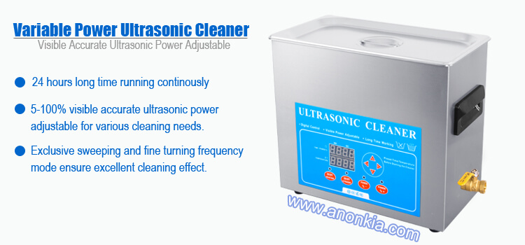 6L Lab Ultrasonic Cleaner Variable Power