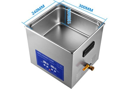 Best 10L Digital Ultrasonic Cleaner for Carburetors