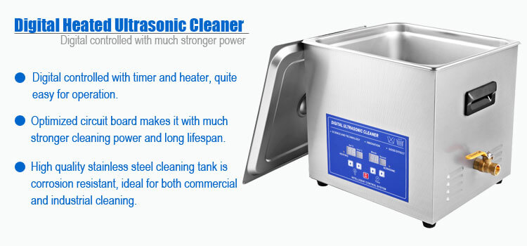 15L Ultrasonic Cleaner for Dental Instruments