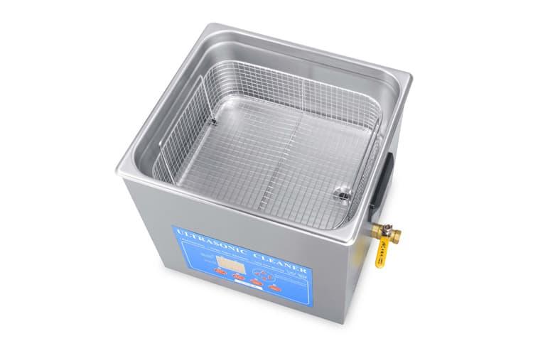 15L Ultrasonic Water Bath with Basket