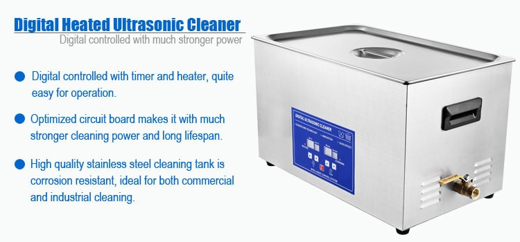 20L Commercial Benchtop Ultrasonic Cleaner