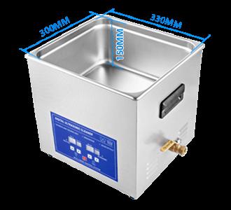 KHTD Digital Ultrasonic Bath Size