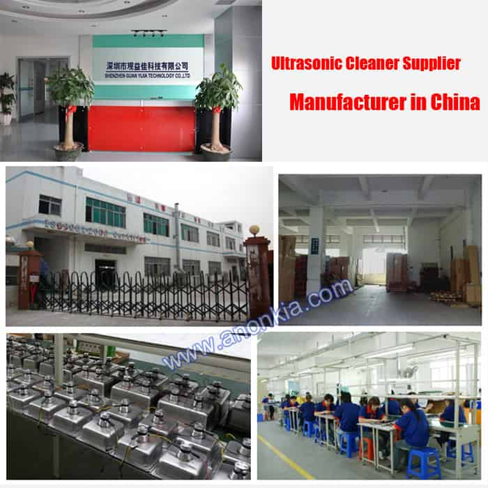 ultrasonic cleaners manufacturer in China