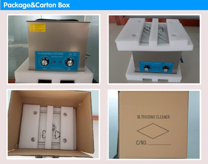 sonic cleaner packaging carton box