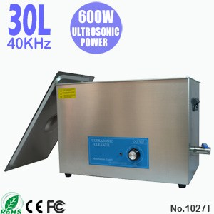 1027T 30L Industrial Parts Ultrasonic Cleaning Machine