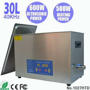 1027HTD 30L Sonic Cleaning Digital Ultrasonic Cleaner
