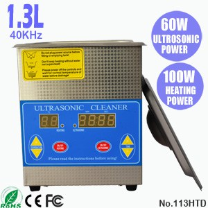 113HTD 1.3L Ultrasonic Cleaning Tank Ultra Sonic Cleaner