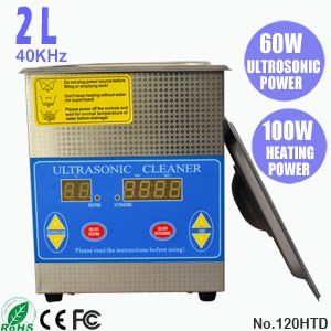 120HTD 2L Ultra Sonic Cleaning Ultrasonic Jewelry Cleaner