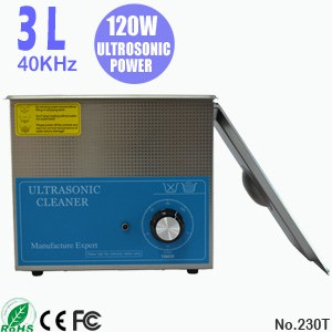 230T 3L Small Ultra Sonic Cleaning Ultrasonic Water Bath