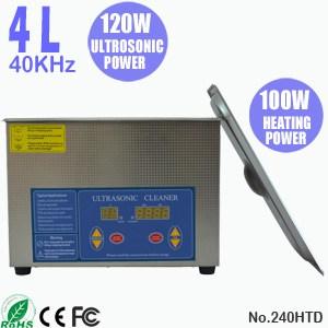 240HTD 4L Ultrasonic Bath  Digital Ultra Sonic Cleaner