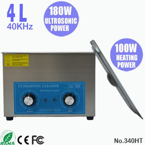 340HT 4L Ultrawave Cleaning Ultrasonic Cleaner Machine