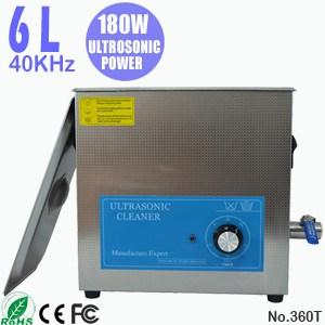 360T 6L Ultrasonic Cleaning Bath Ultra Sonic Cleaner