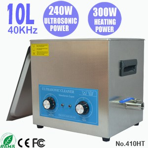 410HT 10L Industrial Parts Ultrasonic Cleaning Machine