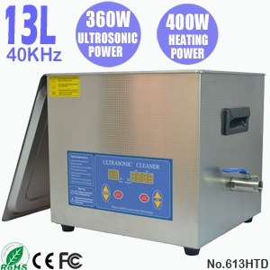 613HTD 13L Digital Dental Ultrasonic Cleaner with Heater