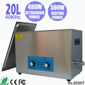 820HT 20L Ultra Sonic Cleaning Ultrasonic Parts Cleaner