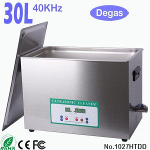 1027HTDD 30L Sonic Cleaning Ultrasonic Bath with Degas