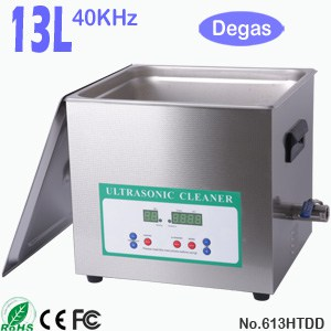 613HTDD 13L Digital Heated Ultrasonic Cleaner with Degas