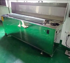 Ultrasonic Anilox Roller Cleaner Printer Cleaning Machine