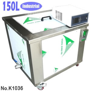 150L Industrial Heated Ultrasonic Parts Cleaner for Sale