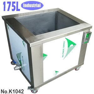 175L Industrial Degreasing Tank Ultrasonic Parts Degreaser Machine