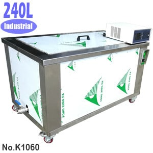 240L Large Industrial Parts Ultrasonic Cleaning Machine